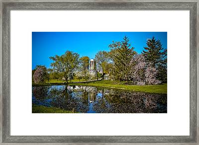 Land O Lakes Farm Framed Print by Michael Brooks