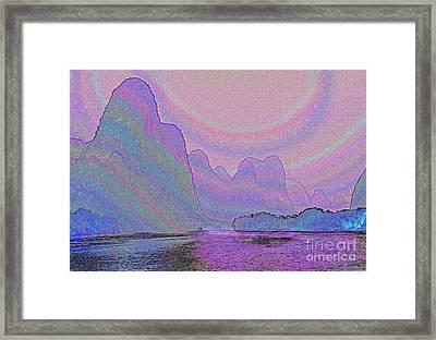 Land Of Dreams Framed Print by Rosemary Calvert