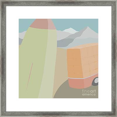 Land Of Enchantment Framed Print