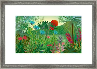 Land Of Flowers - Limited Edition 2 Of 15 Framed Print by Gabriela Delgado