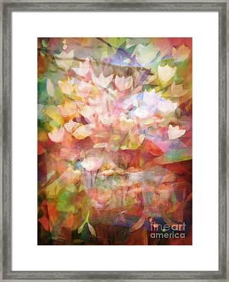 Land Of Flowers Framed Print by Lutz Baar