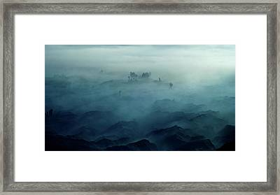 Land Of Fog Framed Print by Rudi Gunawan