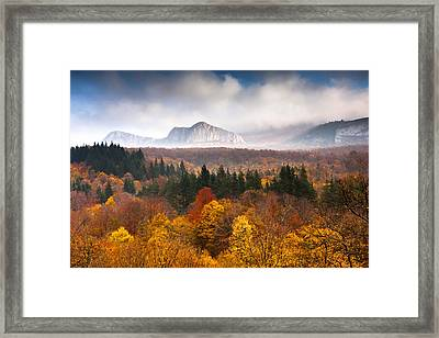 Land Of Illusion Framed Print by Evgeni Dinev