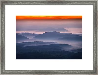 Land Of Mists Framed Print by Evgeni Dinev