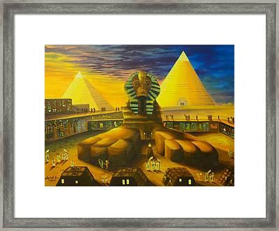 Land Of Pharaohs Framed Print