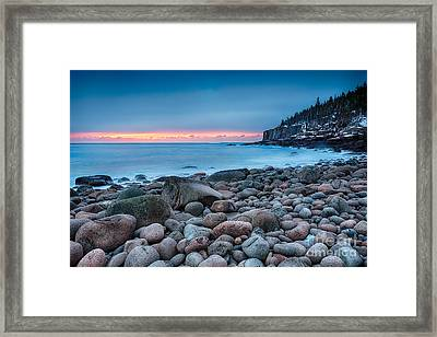 Land Of Sunrise Framed Print