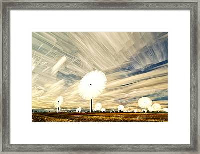 Land Of The Giant Lollypops Framed Print