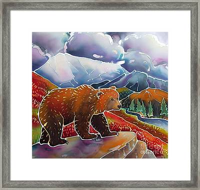 Land Of The Great Bear Framed Print by Harriet Peck Taylor