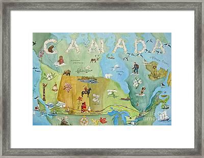 Land Of The Silver Birch Framed Print by Virginia Ann Hemingson