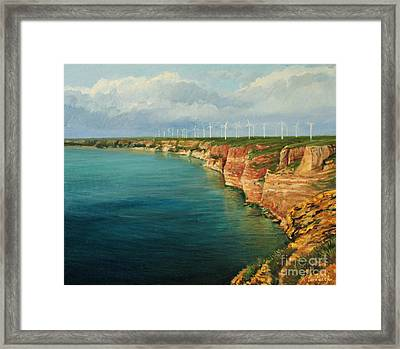 Land Of The Winds Framed Print by Kiril Stanchev