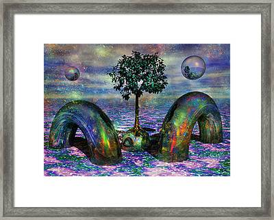 Land Of World 8624028 Framed Print by Betsy Knapp