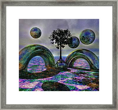 Land Of World 8624030 Framed Print by Betsy C Knapp