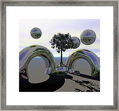Matrix Metal Framed Print