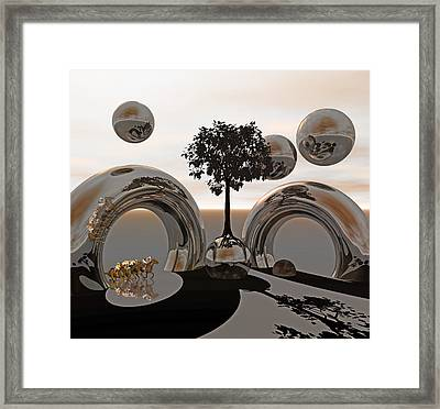 Land Of World 8624038 Racing Framed Print by Betsy Knapp