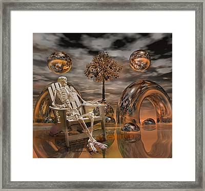 Land Of World 86240440 With Sam Framed Print by Betsy C Knapp