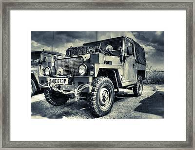 Land Rover - Defender Framed Print