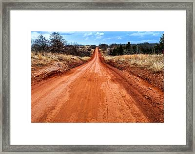 Land Run 100 Framed Print