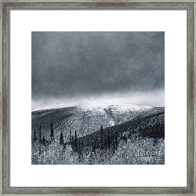 Land Shapes 3 Framed Print by Priska Wettstein