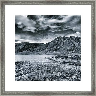 Land Shapes 33 Framed Print