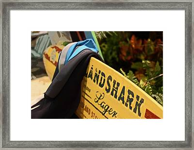 Land Shark Framed Print