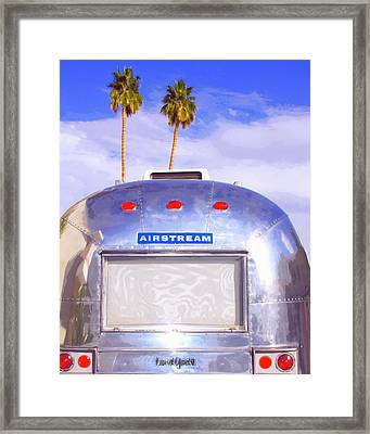 Land Yacht Palm Springs Framed Print by William Dey