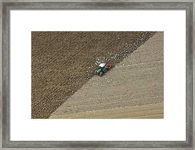 Landbouw, Dronten Framed Print