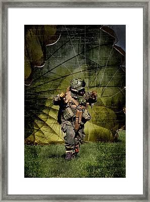 Landed Framed Print by Martin  Fry