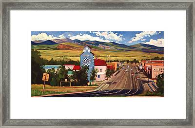 Lander 2000 Framed Print by Art James West