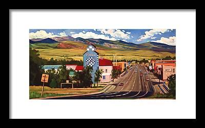 Wind River Range Framed Prints