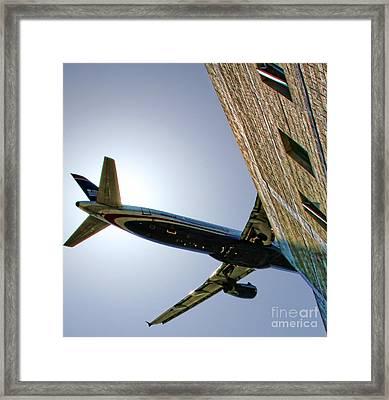 Landing By Diana Sainz Framed Print