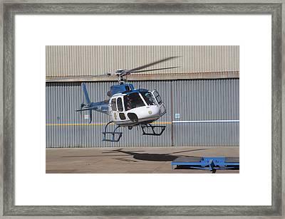 Landing II Framed Print by Paul Job