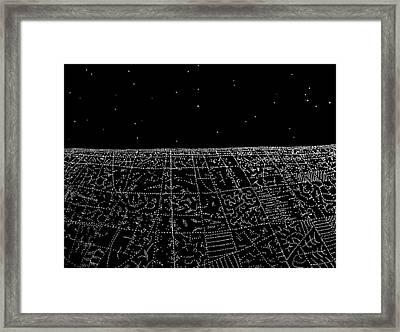 Landing IIi Framed Print by Jason Messinger