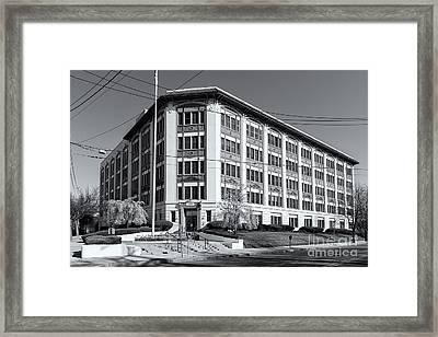 Landmark Life Savers Building II Framed Print by Clarence Holmes