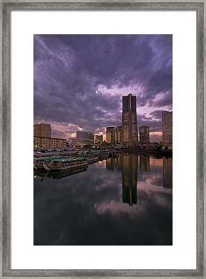 Landmark Tower Framed Print