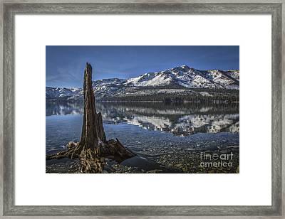 Landmarks Framed Print