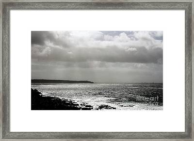 Lands End Framed Print by Linsey Williams