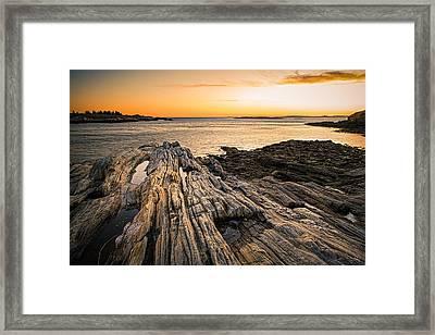 Lands End Framed Print