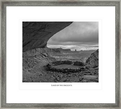 Lands Of The Ancients Framed Print