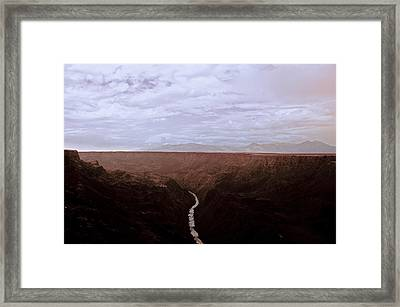 Landscape 17 A Taos Nm Framed Print by Otri Park
