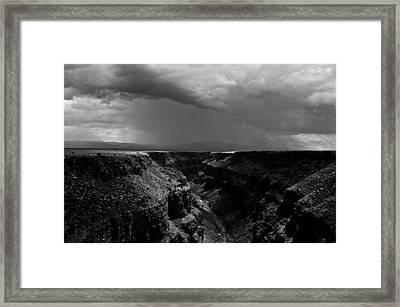 Landscape 17 C Taos Nm Framed Print by Otri Park