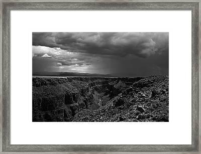 Landscape 17 D Taos Nm Framed Print by Otri Park