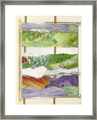Landscape 2 Framed Print by Karin Thue