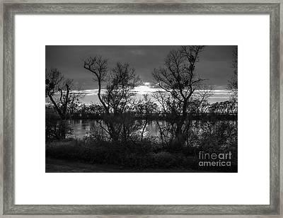 Landscape 23 X Sac Ca Framed Print