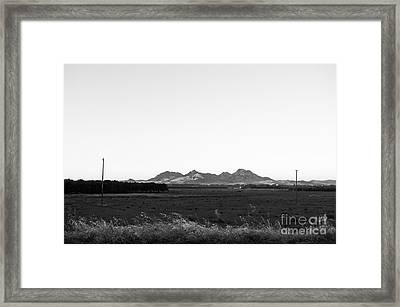 Landscape 24  F Sac Ca Framed Print