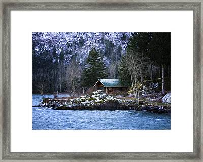 Landscape Art - Get Away From It All Framed Print by Jordan Blackstone