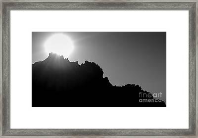 Landscape B10v Taos Nm Framed Print