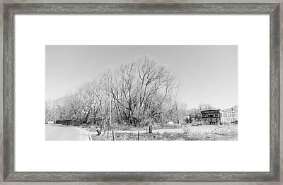 Landscape C10l Taos Nm Framed Print