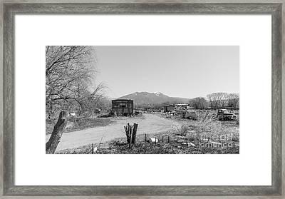 Landscape C10p Taos Nm Framed Print