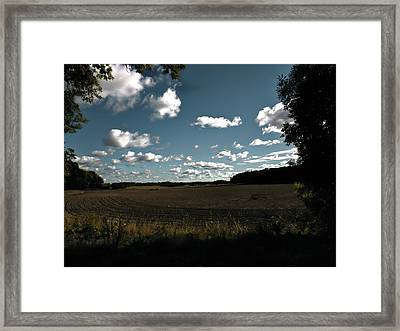 Framed Print featuring the photograph landscape Enkoepingsnaes by Leif Sohlman