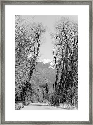 Landscape F10d Taos Nm Framed Print